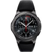 Умные часы Samsung Galaxy Gear S3 Frontier SM-R760 1.3 Super AMOLED темно-серый (SM-R760NDAASER)