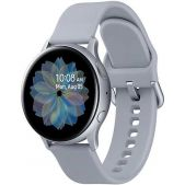 Умные часы Samsung SM-R830NZSASER Galaxy Watch Active2 40мм 1.2 Super AMOLED серебристый