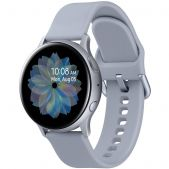 Умные часы Samsung Galaxy Watch Active2 44мм 1.4 Super AMOLED серебристый (SM-R820NZSRSER)