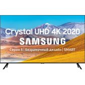 Телевизор 50 Samsung UE50TU8000UXRU Ultra HD, Smart TV, Wi-Fi, Voice, PQI 2100, DVB-T2 C S2, Bluetooth, CI+(1.4), 20W, 3HDMI, Black